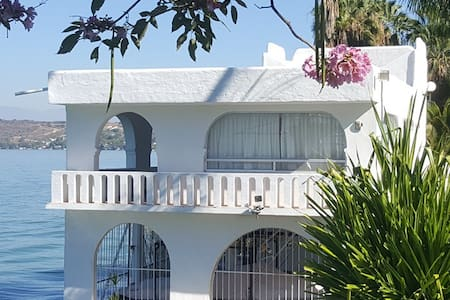 Habitación a la orilla del Lago 4 - Tequesquitengo - Casa