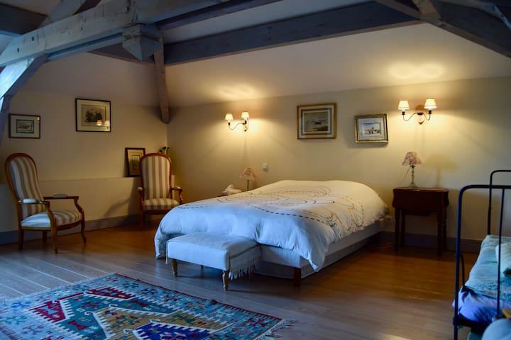 Chambre privée (1/3) en plein coeur de Saint Sever