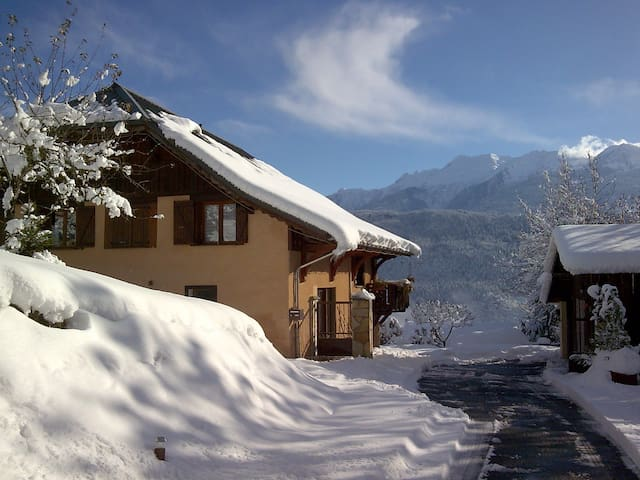 Savoy : Typical flat in Farm-Chalet - Marthod - Apartment