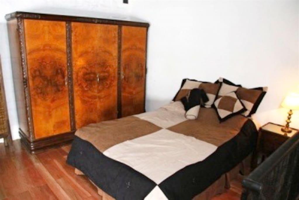 Bedroom in mezzanine