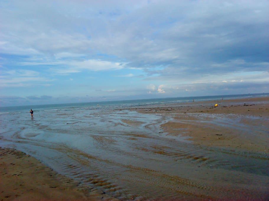 la plage tout prés