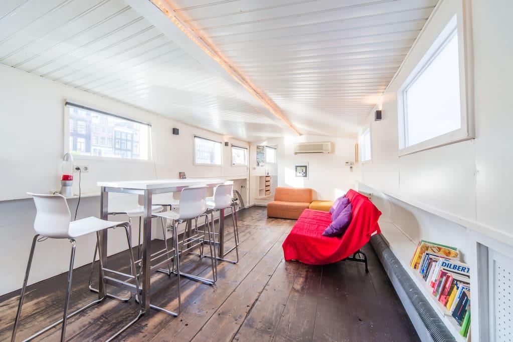 Amsterdam houseboat 39 centre 39 appartamenti in affitto a for Appartamenti in affitto amsterdam