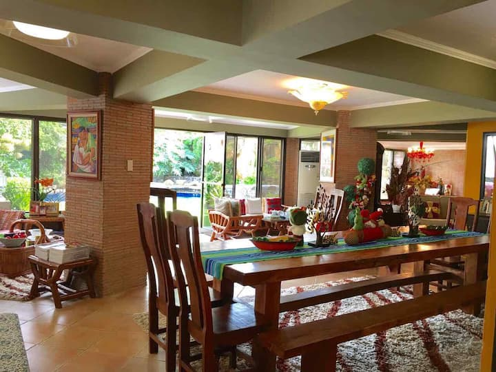 Casa Viki in Cool Tagaytay with a View and a Pool