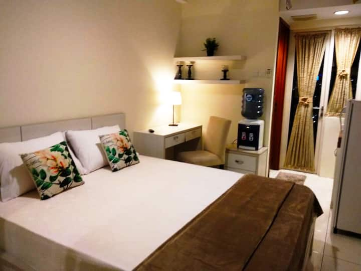 Fully Furnished Studio Apartment in Depok City