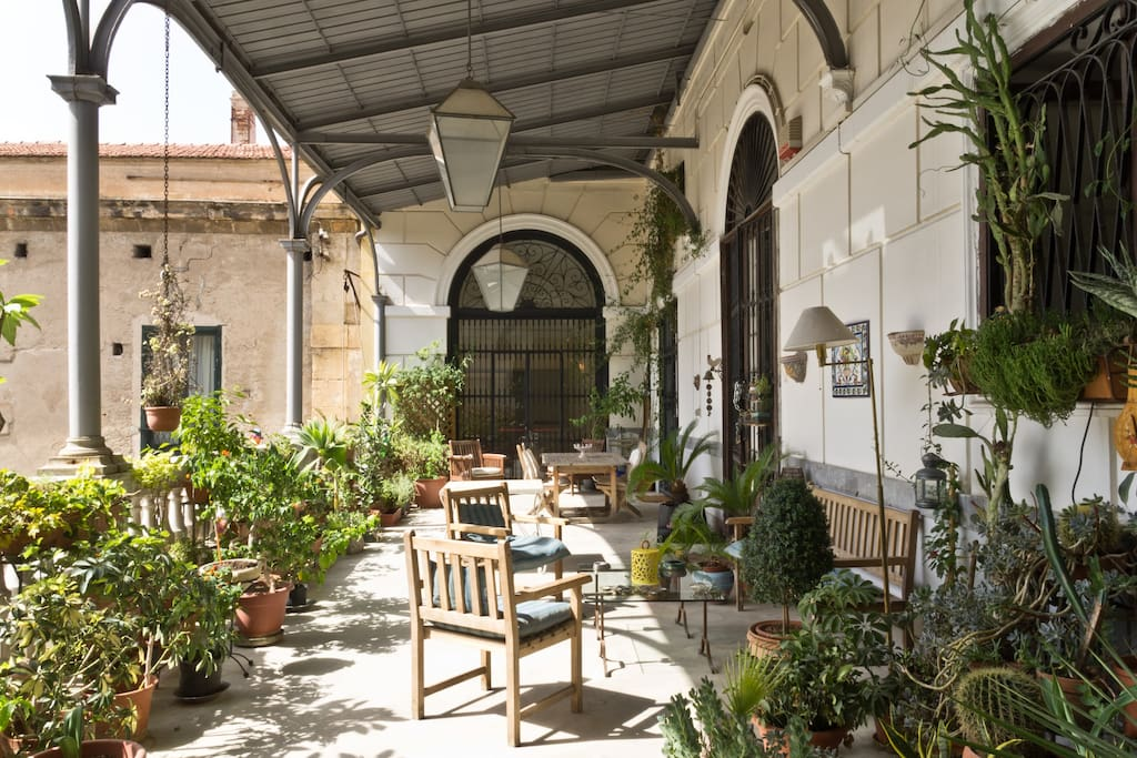 cattolica art apartment flats for rent in palermo sicily italy