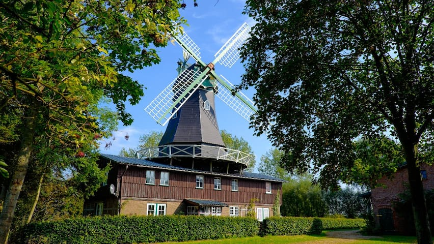 Nice apartment in a windmill 1st fl - Osterbruch - Huoneisto