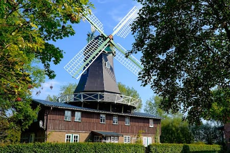 Mühle Osterbruch Obergeschoss - Osterbruch