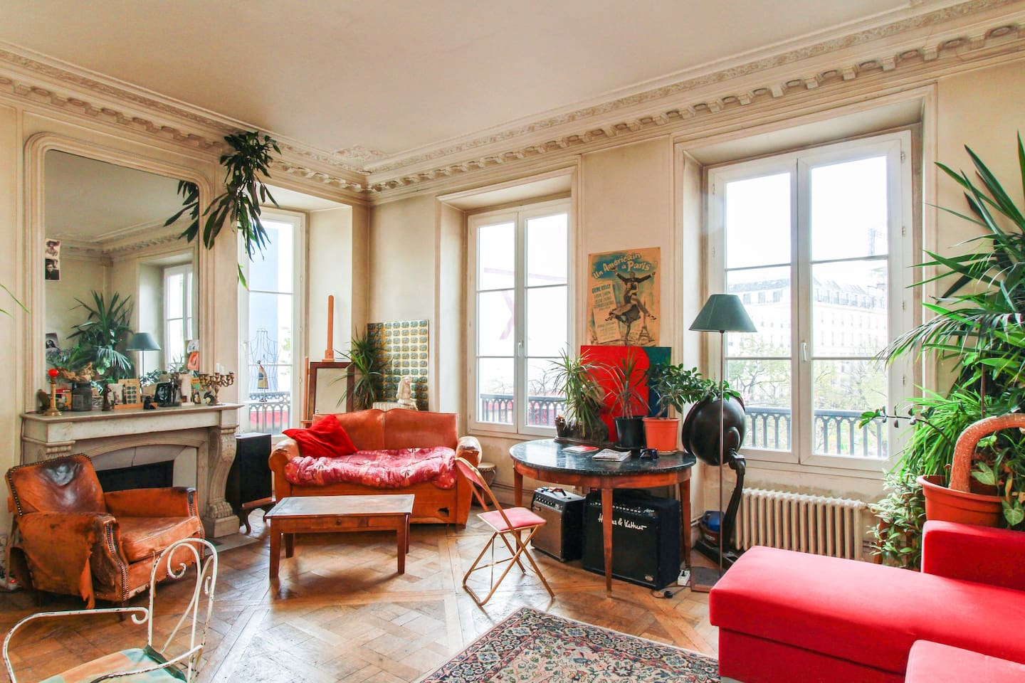 Haussman appartment paris center