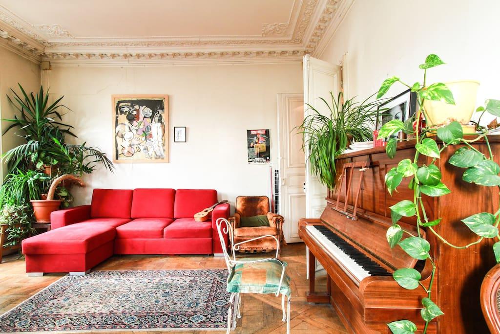 Haussman appartment paris center