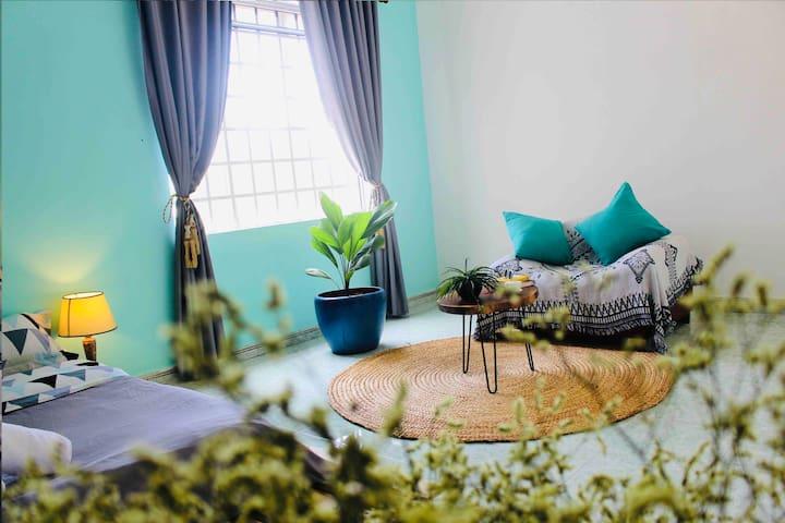 Master Room In Eco Area near City Central (#208)