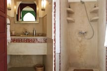 salle de douche de la Suite / shower room Suite