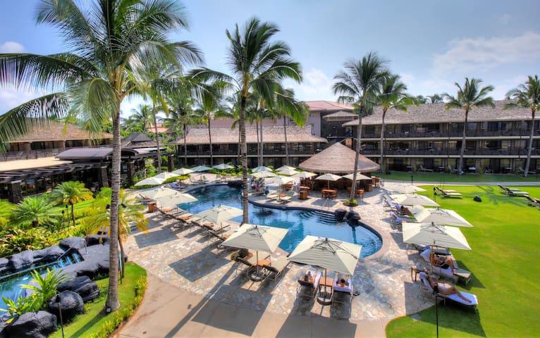 Oceanfront Paradise - Honeymoon Bliss! Top Resort with Pool Bar, Spa & Lava Rock Hot Tub!