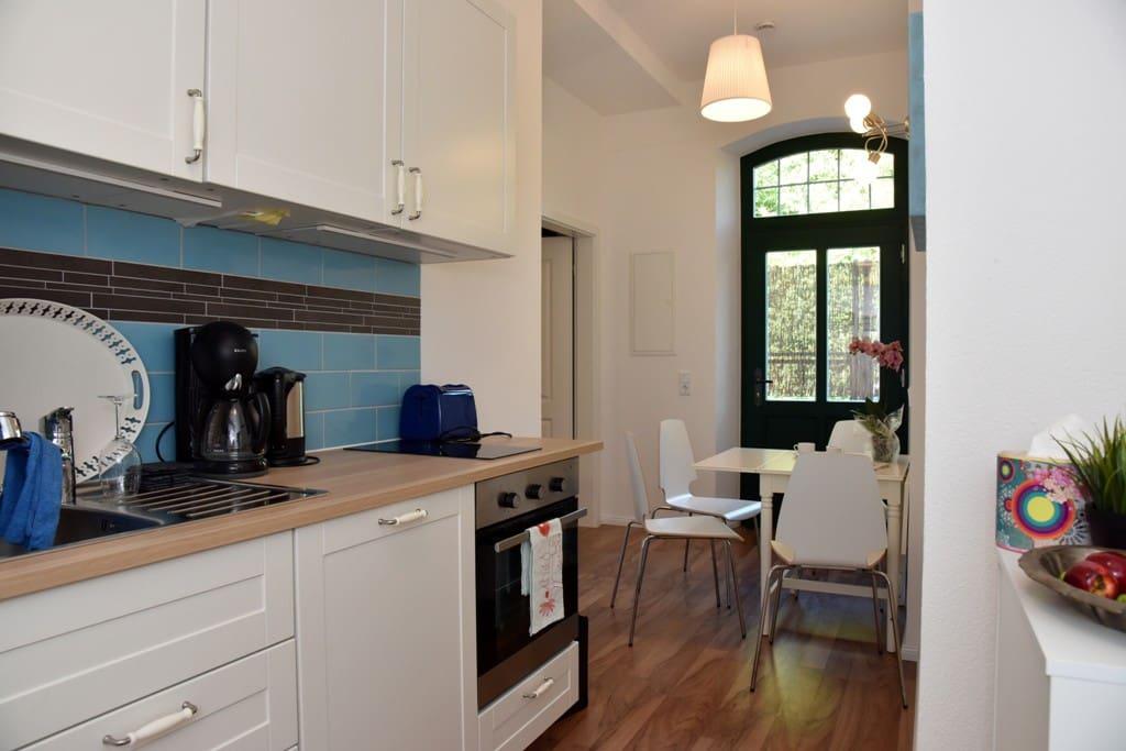 Küche- und Eßbereich