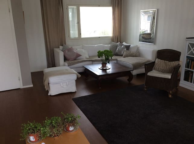 Sunny apartment with big terrace - Espoo - Appartement
