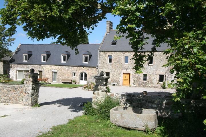 La Trémaillerie chambre du Pressoir - Blainville-sur-Mer - Bed & Breakfast