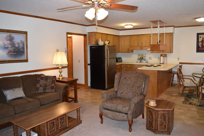 Downtown Apartment - Walk to Main St.