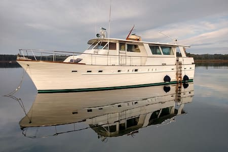 Spacious 2 level suite on yacht - Camden - Boot