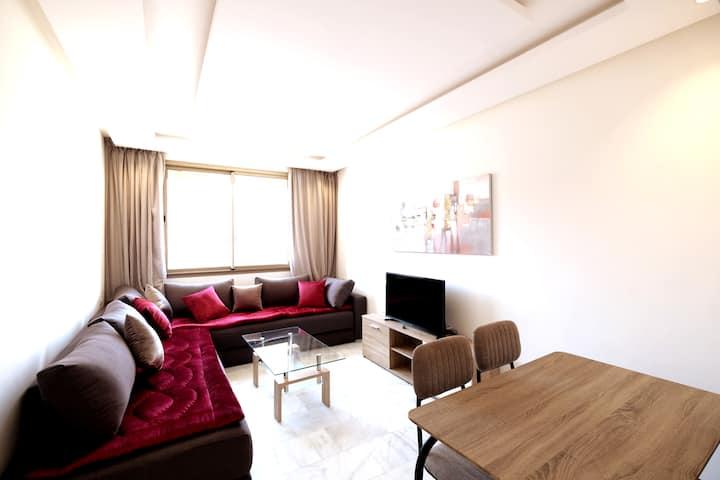 Superbe appartement F3 au centre ville. Terrasse!