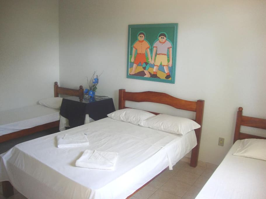 APART° DUPLO/CASAL - HOTEL POUSADA TERRAS DO SEM FIM - ILHÉUS - BAHIA