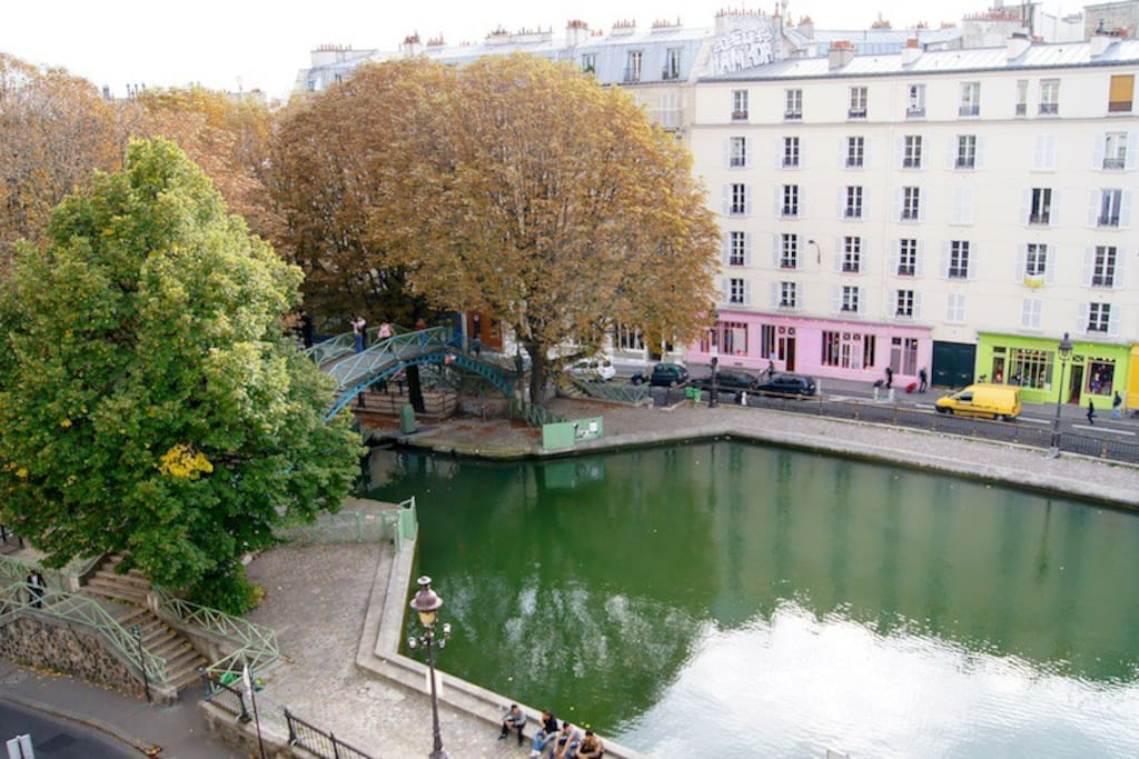 Canal Saint Martin sightseeing