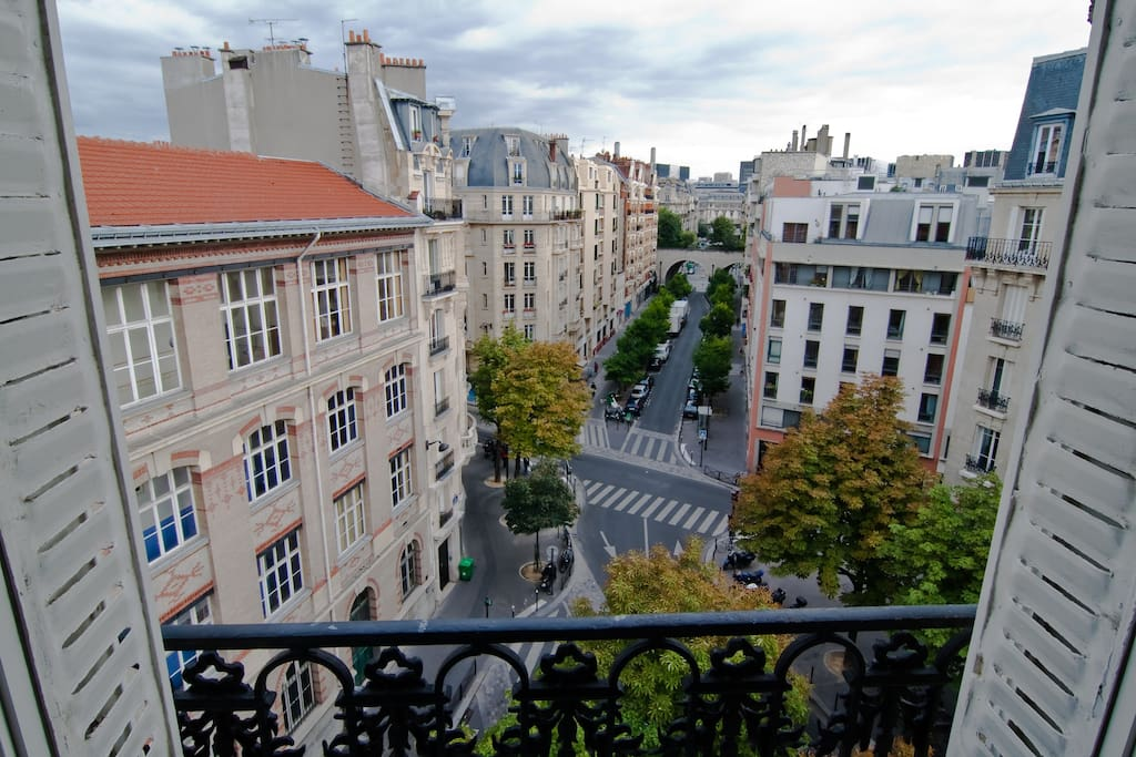 Apartment with terrace in Bastille