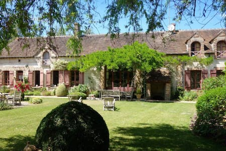 A splendid vast house in Burgundy, 1h from Paris - La Belliole - Haus