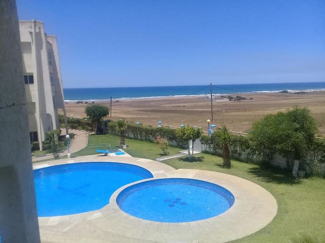 Apartment with sea view near Assilah