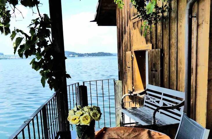 Wohnen direkt am See