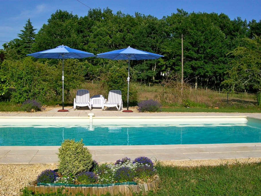 B b near sarlat room 4 kingsize bed bed breakfasts for for Chlorine piscine
