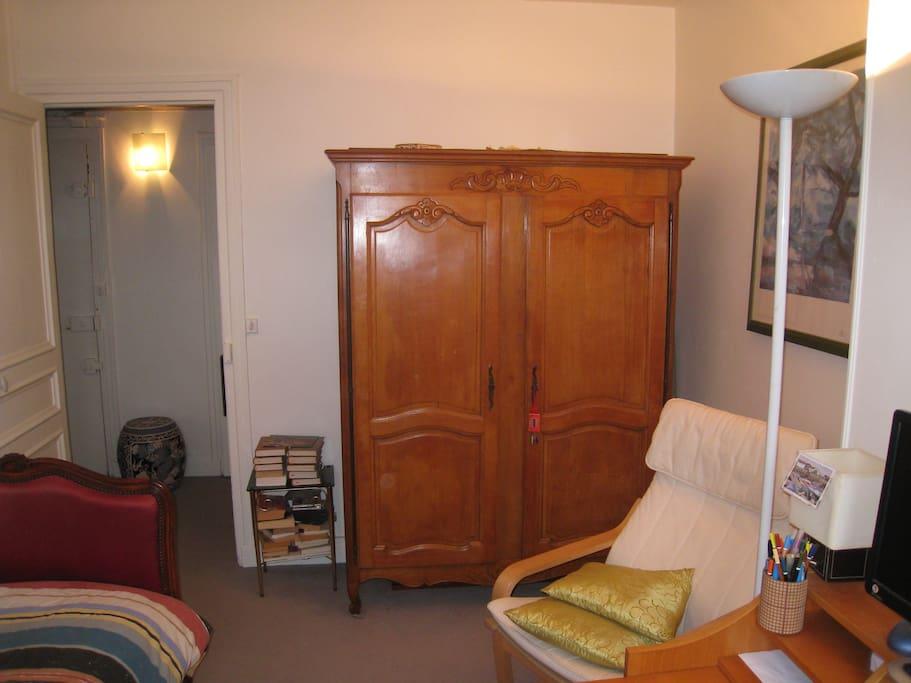 L'armoire vous est réservée