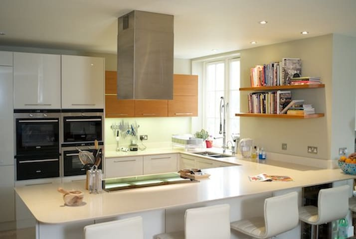 Light, bright airy kitchen