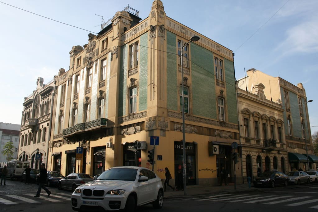 Our Building Complex one of the most famous in Belgrade