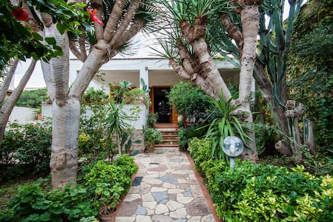 Villa Elisa (garden & sea)