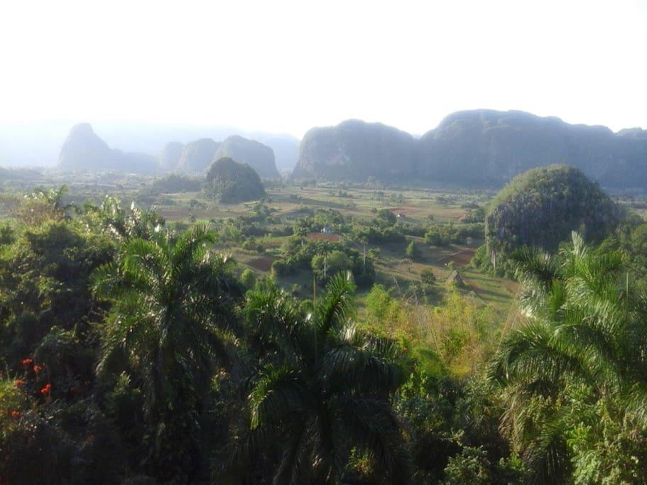 Visitas dirigidas al Valle de Viñales
