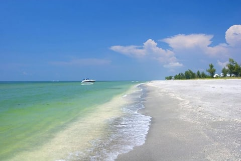 Sanibel Island Beaches are some of the most unique barrier islands of the world, having an east-west orientation when most islands are north-south