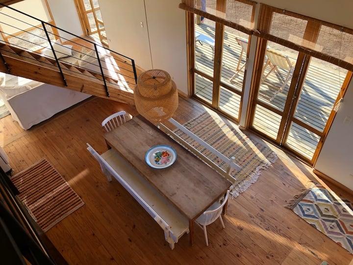 Casa playa y campo en Tunquén