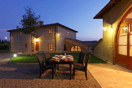 CHIANTI VILLA:swpool,catering,Wi-Fi - Poppiano - Villa