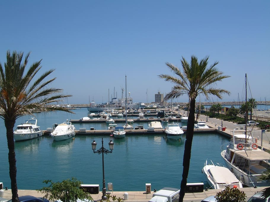 View of Sotogrande Marina
