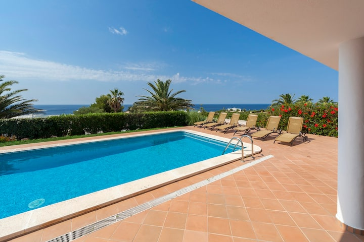 VILLA ATALAYA - Lovely modern villa near the beach, stunning sea views