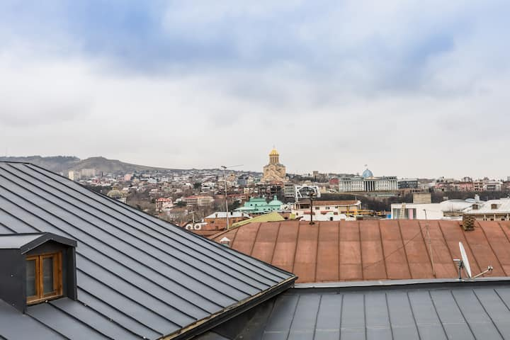 Top of Tbilisi's heart   <3  BEST VIEW IN TBILISI
