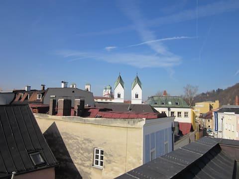 Loft über den Dächern der Altstadt Passaus