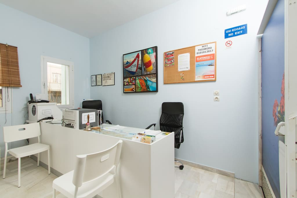 Front office - Guest services