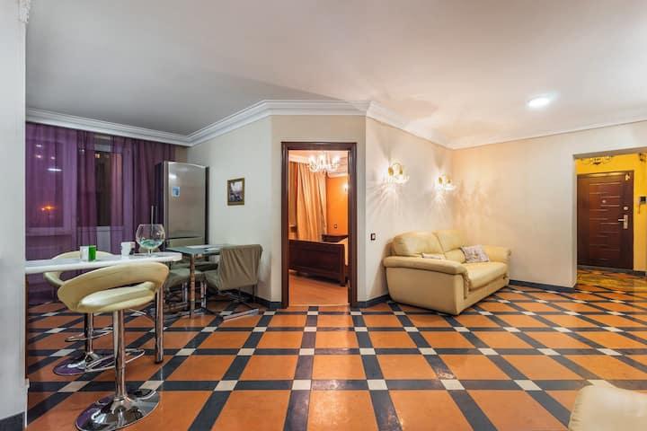 Стильная, роскошная 3х комнатная студия на Полевой