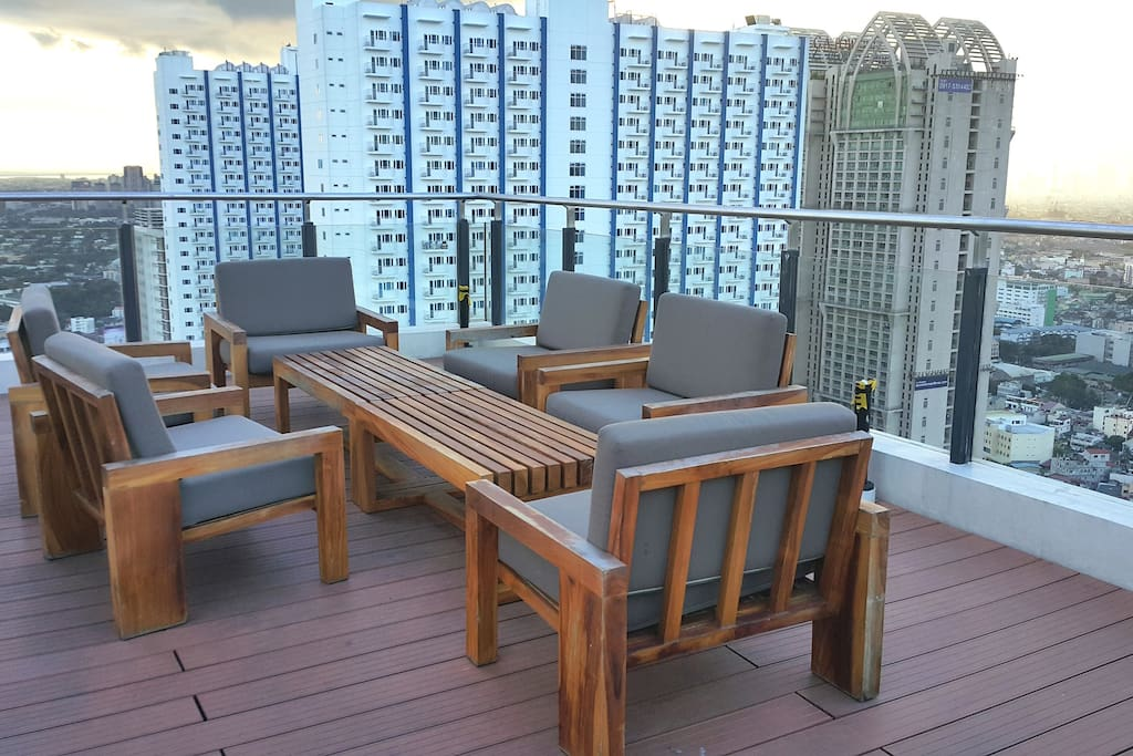 Sky Lounge or Roof Deck where you can enjoy fresh air
