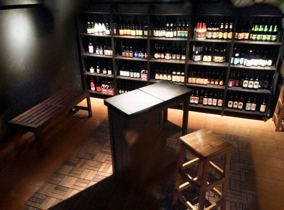 B1 Beer cellar (will sleeping at here!)