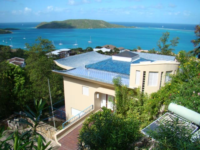 Hummingbird Haven, Luxury Vacation Villa in Leverick Bay, Virgin Gorda, BVI - Virgin Gorda - Casa de campo