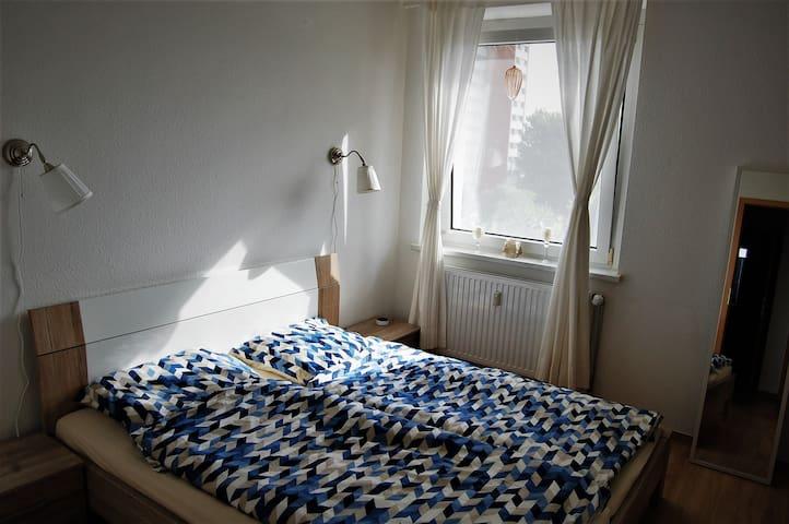 Geräumige, moderne 2 Raum-Wohnung mit West-Balkon