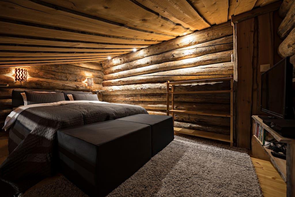 Makuuhuone parvella
