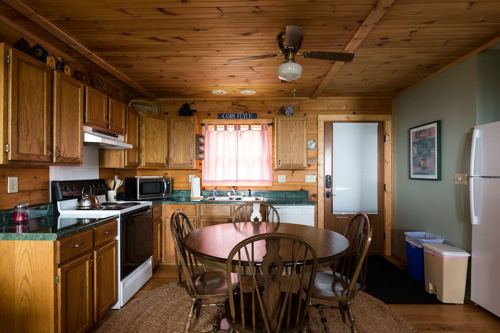 Kitchen/dining (and best Wi-Fi access)