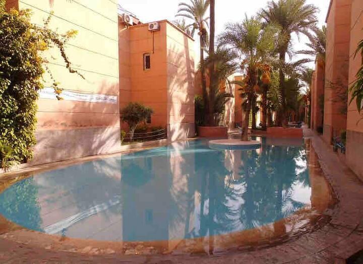 Chambre privé dans Résidence Zahra Marrakech